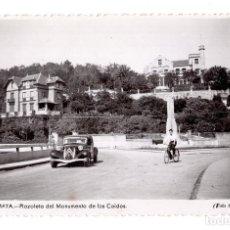Postales: ZUMAYA.- PLAZOLETA DEL MONUMENTO DE LOS CAIDOS. FOTO GAR. Lote 128052895