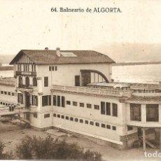 Postales: 1925CA POSTAL SIN CIRCULAR BALNEARIO PLAYA DE EREAGA ALGORTA VIZCAYA (GRAFOS MADRID). Lote 128056019
