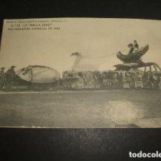 Postales: SAN SEBASTIAN CARNAVAL DE 1900 LA BELLA EASO CLICHE DE MIGUEL AGUIRRE FOTOGRAFO . Lote 128074507