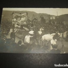 Postales: SAN SEBASTIAN CARNAVAL HACIA 1907 POSTAL FOTOGRAFICA CARLOS LECLERC FOTOGRAFO . Lote 128074883