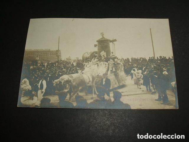 SAN SEBASTIAN CARNAVAL HACIA 1907 POSTAL FOTOGRAFICA FREDERIC FOTOGRAFO (Postales - España - Pais Vasco Antigua (hasta 1939))