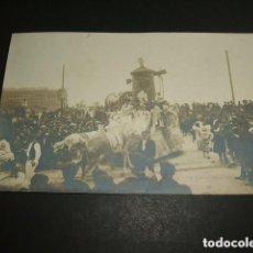 Postales: SAN SEBASTIAN CARNAVAL HACIA 1907 POSTAL FOTOGRAFICA FREDERIC FOTOGRAFO . Lote 128074947