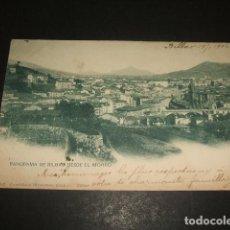 Postales: BILBAO PANORAMA DESDE EL MORRO. Lote 128178479