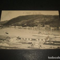 Postales: PASAJES GUIPUZCOA SAN JUAN Y BAHIA. Lote 128357119