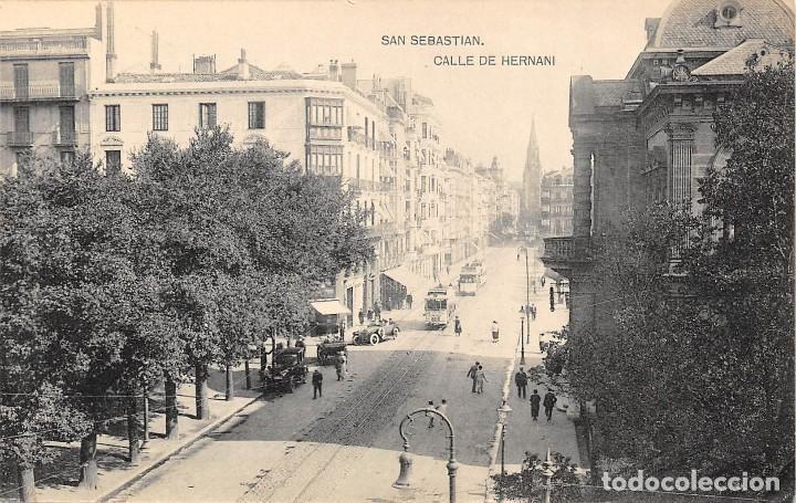 SAN SEBASTIAN.- CALLE DE HERNANI (Postales - España - Pais Vasco Antigua (hasta 1939))