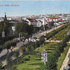 Postales: LOTE 2 POSTALES 1925 CA CIRCULADA Y SIN CIRCULAR LAS ARENAS LA GRAN AVENIDA VIZCAYA (L.G.). Lote 128576103