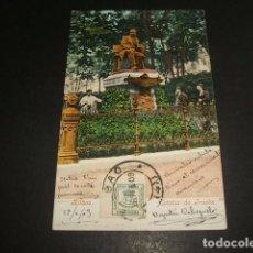 Postales: BILBAO ESTATUA DE TRUEBA ED. PURGER REVERSO SIN DIVIDIR Nº 2942. Lote 128702855