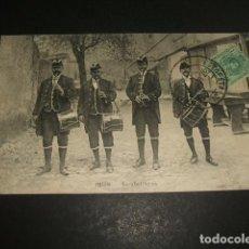 Postales: IRUN GUIPUZCOA TAMBORILEROS. Lote 128704251