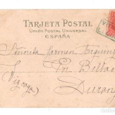 Postales: RARA CARTERÍA LLODIO, VITORIA. Lote 128745563
