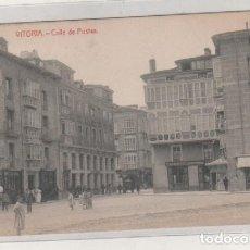 Postales: VITORIA CALLE DE POSTAS. THOMAS BARCELONA. SIN CIRCULAR.. Lote 130175039