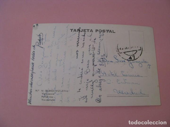 Postales: POSTAL DE BILBAO. VISTA PARCIAL. ED. MAITE. CIRCULADA. - Foto 2 - 130722549