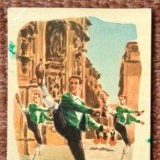 Postales: DANZAS VASCAS - AGURA - INDAUCHU EDITORIAL. Lote 131028660