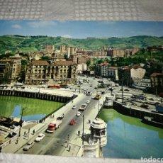 Postales: TARJETA POSTAL PUENTE DEL GENERAL MOLA BILBAO. Lote 131076147
