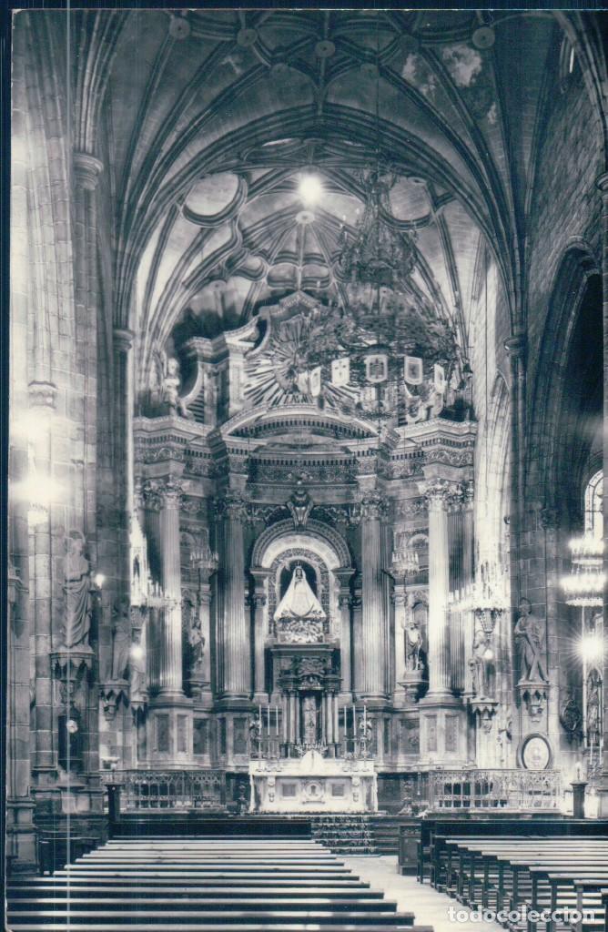 POSTAL BILBAO - SANTUARIO DE NTRA SRA DE BEGOÑA - ALTAR MAYOR - VISTA BELLA (Postales - España - Pais Vasco Antigua (hasta 1939))