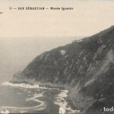 Postales: SAN SEBASTIAN Nº 54 MONTE IGUELDO .- EDITOR J. LATIEULE S/C. Lote 132234618