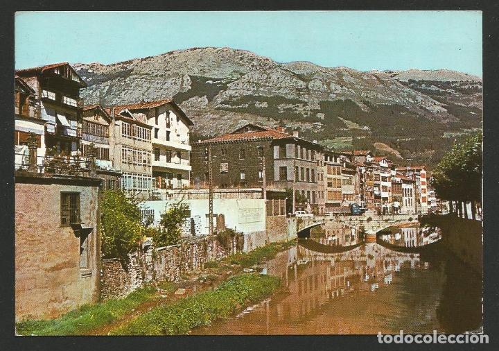 AZKOITIA / AZCOITIA - VISTA PARCIAL Y RÍO UROLA - P30001 (Postales - España - País Vasco Moderna (desde 1940))
