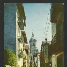 Postales: HONDARRIBIA / FUENTERRABIA - CALLE DE LAS TIENDAS - P30001. Lote 132334022