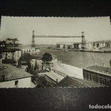 Postales: PORTUGALETE BILBAO VIZCAYA PUENTE DE VIZCAYA. Lote 132592150