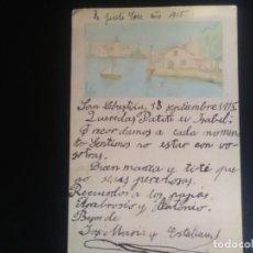 Postales: ANTIGUA POSTAL DE SAN SEBASTIÁN 1915. Lote 132920482