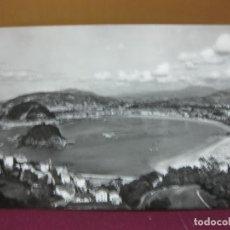 Postales: POSTAL SAN SEBASTIAN VISTA GENERAL DESADE IGUELDO. MANIPEL 1960.. Lote 133103514