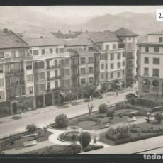 Postales: GERNIKA / GUERNICA - CALLE FERNÁNDO EL CATÓLICO Y JARDINES - P26655. Lote 133265870