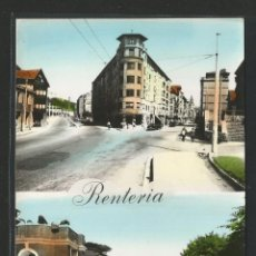 Postales: ERRENTERIA - AVENIDA DE NAVARRA Y CALLE VITERI / ALAMEDA DE GAMÓN - P26652. Lote 133265982