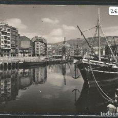 Postales: BILBAO - LA RÍA Y EL MUELLE DE RIPA - P26648. Lote 133266054