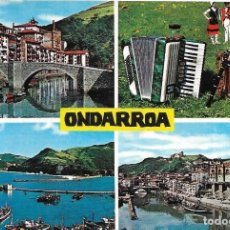 Postales: == PJ833 - POSTAL - ONDARROA - VARIAS VISTAS. Lote 133388214