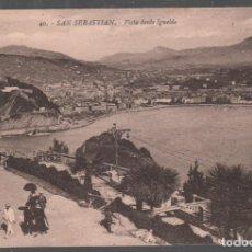 Postales: POSTAL SAN SEBASTIAN - VISTA DESDE IGUELDO Nº 40 . P.MUNDI/ P . VASCO-76 . Lote 133812782