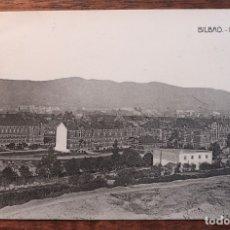 Postales: POSTAL ANTIGUA DE BILBAO- BOULEBAR Y ARENAL- CIRCULADA 1919. Lote 133822410
