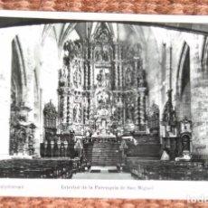Postales: OÑATE - PARROQUIA DE SAN MIGUEL - ED: MANIPEL. Lote 134086974