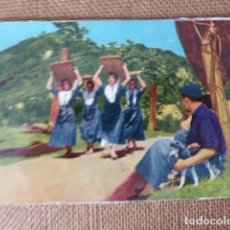 Postales: BALLET GOIZALDI. DANTZARIA DE PASAJES. ESCRITA.. Lote 134100530