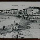 Postales: POSTAL DE LAS ARENAS, VIZCAYA, LA PLAYA, ED. L.G. NO CIRCULADA.. Lote 134204438