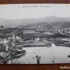 Cartes Postales: POSTAL- LEZO RENTERÍA - VISTA GENERAL - AÑOS 20 - SIN CIRCULAR. Lote 134395930