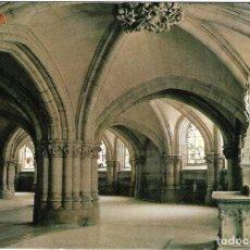 Postales: == PJ1003 - POSTAL - PARROQUIA DE MARÍA INMACULADA MADRE DE LA IGLESIA. CRIPTA - VITORIA. Lote 135083338