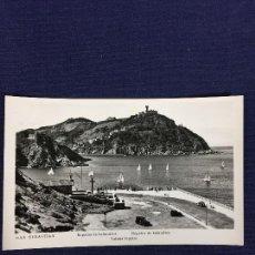Postales: POSTAL SAN SEBASTIAN REGATAS DE BALANDROS ED MANIPE. Lote 135176286