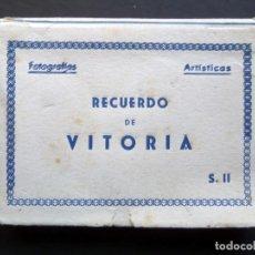 Postales: CARPETA CON 10 MINI POSTALES DE ÉPOCA. . Lote 135358670