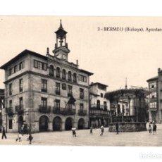 Postales: BERMEO (BIZKAYA).- AYUNTAMIENTO. Lote 135594678