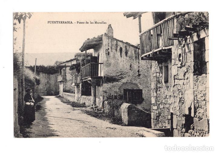 FUENTERRABIA (GUIPUZCOA).- PASEO DE LAS MURALLAS (Postales - España - Pais Vasco Antigua (hasta 1939))