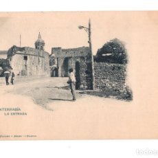 Postales: FUENTERRABIA (GUIPUZCOA).- LA ENTRADA. Lote 135603386