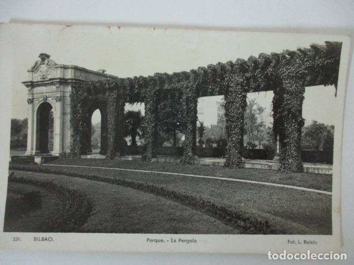 POSTAL - PARQUE, LA PERGOLA - BILBAO - FOTO L. ROISIN (Postales - España - Pais Vasco Antigua (hasta 1939))