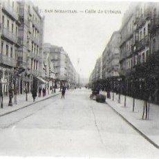 Postales: P- 8801. POSTAL SAN SEBASTIAN. CALLE DE URBIETA. . Lote 135868030