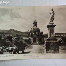 Postales: TARJETA POSTAL SANTUARIO DE LOYOLA - VISTA GENERAL, SIN CIRCULAR. Lote 136515658