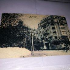 Postales: ANTIGUA POSTAL. HOTEL CARLTON DE BILBAO. AÑOS 20. EDICIÓN GRAFOS DE MADRID. Lote 153565516