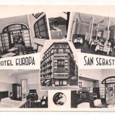 Postales: SAN SEBASTIAN - HOTEL EUROPA - GUIPÚZCOA - SIN CIRCULAR - MANIPEL. Lote 137925430