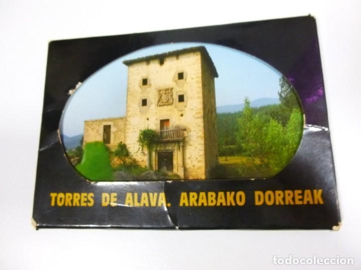 LAS TORRES DE ÁLAVA LOTE DE 12 POSTALES DIPUTACIÓN FORAL DE ÁLAVA AÑO 1982 (Postales - España - País Vasco Moderna (desde 1940))