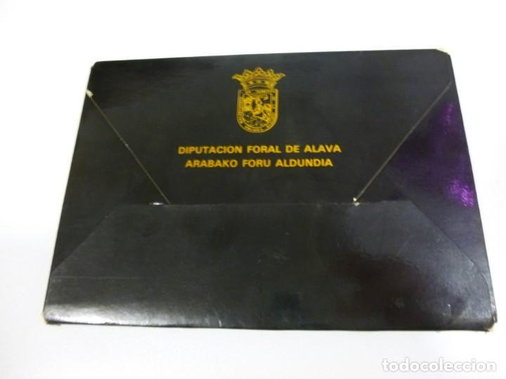 Postales: Las torres de Álava Lote de 12 postales Diputación Foral de Álava año 1982 - Foto 2 - 138689858