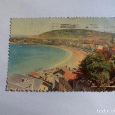 Postales: ANTIGUA POSTAL - SAN SEBASTIAN - VISTA PARCIAL DESDE ALDAPETA. Lote 138875166