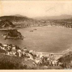 Postales: SAN SEBASTIAN – VISTA DESDE EL MONTE IGUELDO – GALARZA – CIRCULADA. Lote 138882834