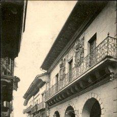 Postales: 71 – FUENTERRABIA – CASA CONSISTORIAL – MAIRIE – N.D. FOT. – SIN CIRCULAR. Lote 138882982